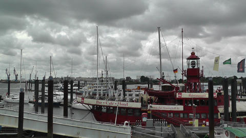 Port of Hamburg 03 Stock Video Footage