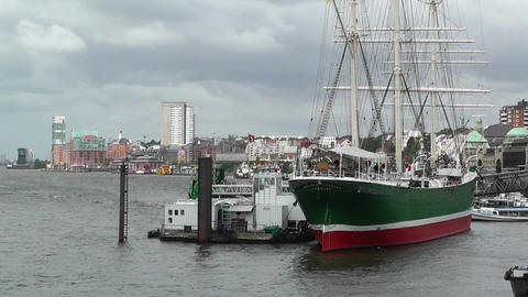 Port of Hamburg 07 Stock Video Footage