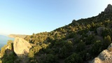 Time-lapse Day In The Mountains. Noviy Svet, Crimea, Ukraine Footage