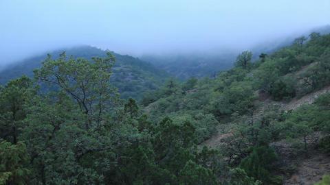 Timelapse sunset in the mountains. Noviy Svet, Crimea,... Stock Video Footage
