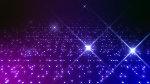 LED Light Space Hex 4q B 3f HD Stock Video Footage