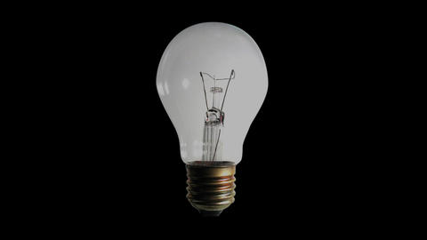 Bulb light blinking Stock Video Footage