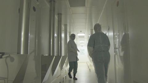corridor Stock Video Footage
