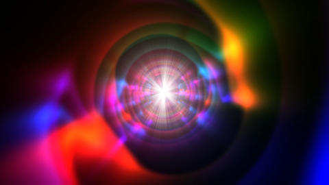 Psychedelic tunnel2 Stock Video Footage