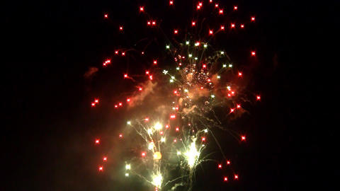 fireworks 09 Stock Video Footage