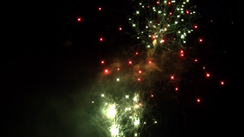 fireworks 09 Stock Video Footage