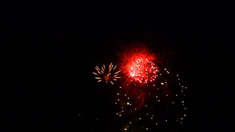 fireworks 03 Stock Video Footage