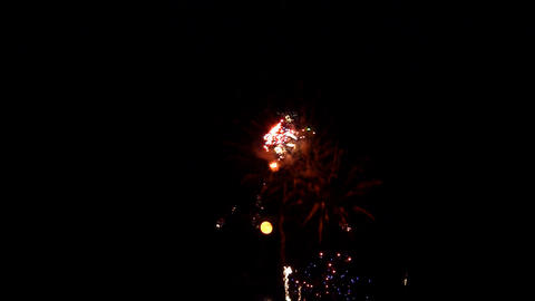 fireworks 12 Stock Video Footage