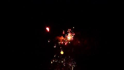 fireworks 12 Stock Video Footage