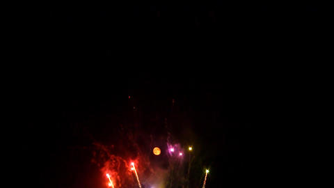 fireworks 10 Stock Video Footage