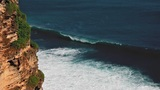 Uluwatu Cliff Loop stock footage