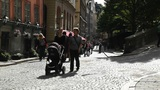 Stockholm Downtown 26 Gamla Stan Footage