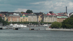 Stockholm Downtown 34 Stock Video Footage
