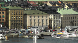 Stockholm Downtown 44 Gamla Stan Stock Video Footage