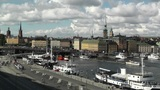 Stockholm Downtown 48 Gamla Stan Clouds Timelapse Footage