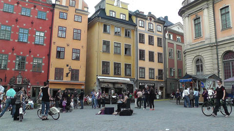 Stockholm Downtown 52 Gamla Stan Footage