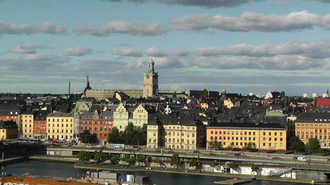 Stockholm Downtown 60 Gamla Stan Footage