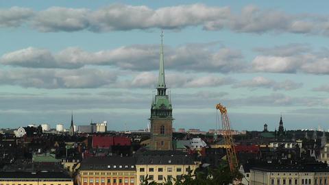 Stockholm Downtown 62 Gamla Stan Stock Video Footage