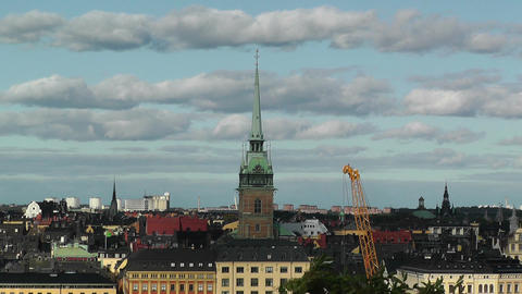 Stockholm Downtown 62 Gamla Stan Footage