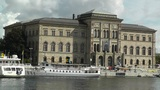 Stockholm Downtown Swedish National Museum 03 Footage