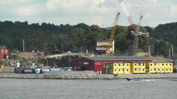 Stockholm Port 08 Stock Video Footage
