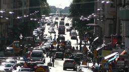 Stockholm Street 03 traffic Footage
