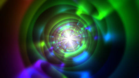 Psychedelic tunnel1 Stock Video Footage