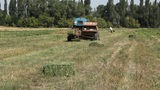 Tractor and Hay Bale Footage
