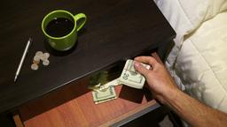 Money Drawer Stock Video Footage