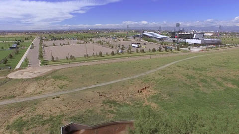 Dick's Sporting Goods Park stock footage