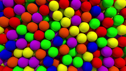 Balls spheres transition fill screen composite overlay wipe reveal 4K Footage