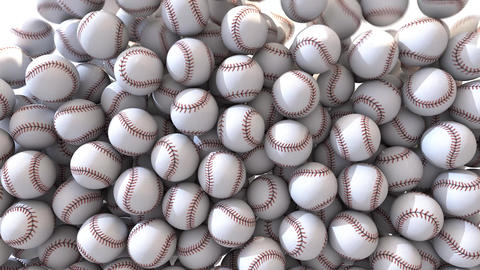 Baseball fill screen transition overlay composite 4k Footage