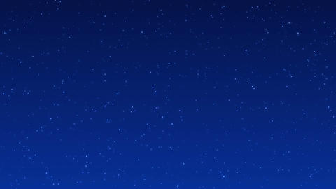 night sky 001 blue CG動画素材