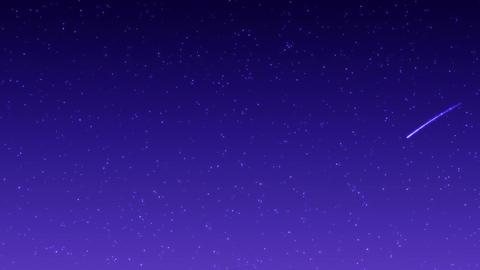 shooting star 002 purple Animation