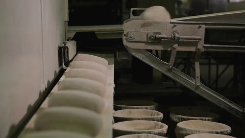 Automated Production Of Bread Footage