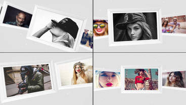 Photo Gallery-The Magic of Life (4 version) After Effects Template