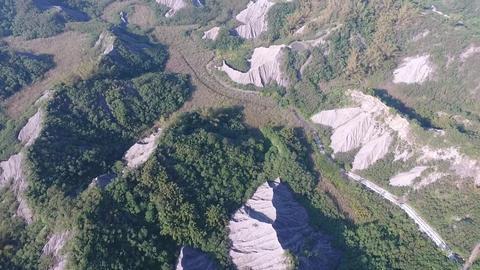 DJI P4 Taiwan Tainan Aerial Drone Video Niu Pu Mudstone 20160924 -3 Footage