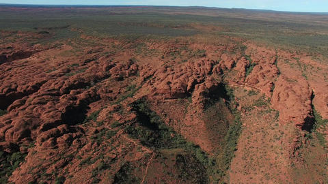 Drone Australia NT Kings Cannon Footage