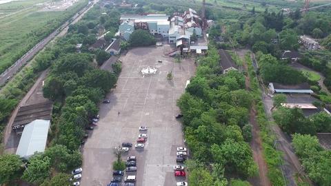 DJI P3A Taiwan Chiyai Aerial Drone Video Suantou Sugar Factory 20160827 -2 Footage