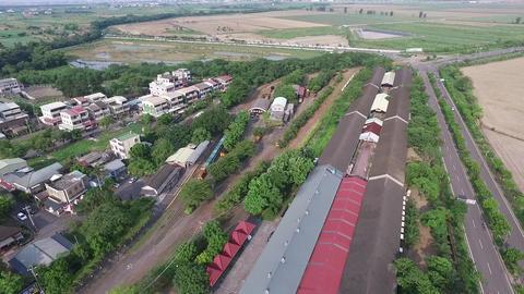DJI P3A Taiwan Chiyai Aerial Drone Video Suantou Sugar Factory 20160827 -1 Footage
