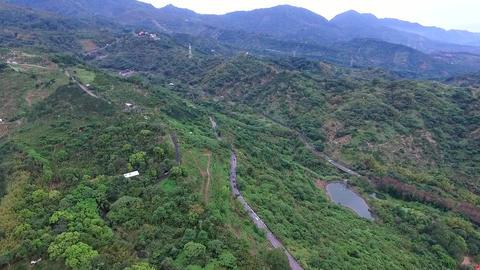 DJI P3A Taiwan Chiayi Aerial Video Guanziling 20160212 -2 Footage