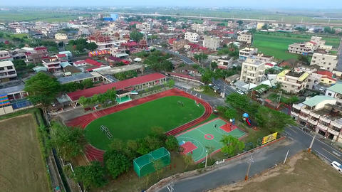 DJI P3A Taiwan Chiayi Aerial Drone Video ZhongLiao Elementary School 20151010 -5 Footage