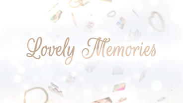 Lovely Memories - Apple Motion and Final Cut Pro X Template Plantilla de Apple Motion