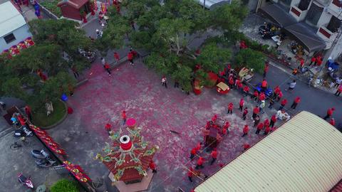 DJI MAVIC 4K Taiwan Chiayi Aerial Video festival temple fair 20161118 4 Footage
