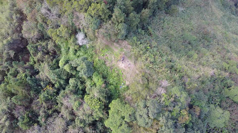 DJI MAVIC 4K Taiwan Aerial Drone Video Nantou Hunter trail 20170124 2 Footage