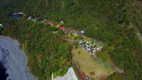 DJI MAVIC 4K Taiwan Aerial Drone Video Nantou Aowanda National Forest Recreation Footage