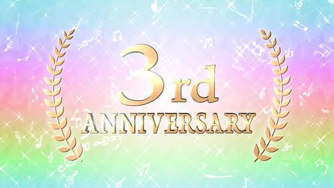 3rd anniversary CG動画
