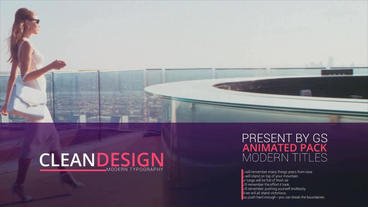 Modern Presentation After Effects Project
