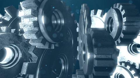 SHA Gear Image BG Blue Animation