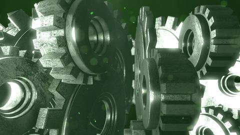 SHA Gear Image BG Green Animation